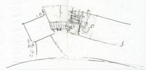 Bier Garden Napkin Sketch