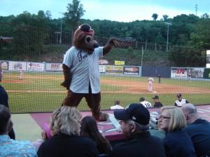 Ted E. the Tourists' Mascot