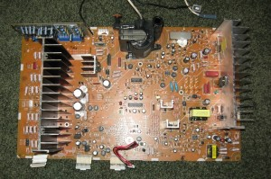 High Voltage / Convergence Board